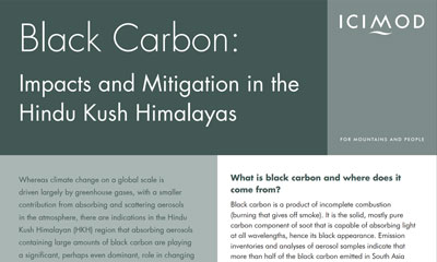 Black Carbon Impact in Himalayas