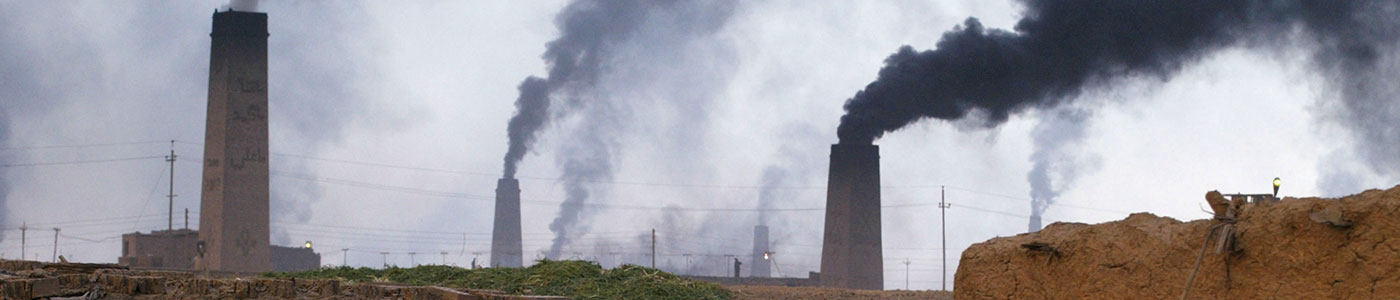 Polluting Kiln Chimneys
